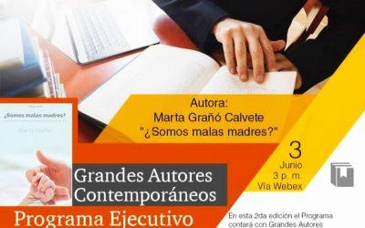 ¿Somos malas madres?, con Marta Grañó a beneficio de la SAV