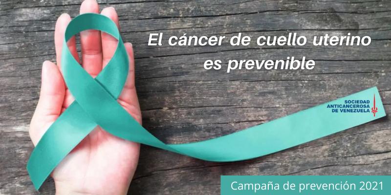 Sociedad Anticancerosa inicia campaña contra el cáncer de cuello uterino