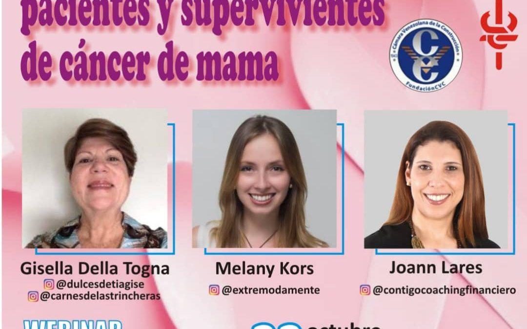Emprendimiento para pacientes y supervivientes de cáncer de mama