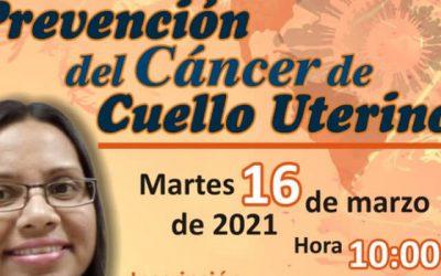 Foro Chat: «Prevención del Cáncer de Cuello Uterino»