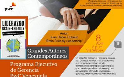 Programa Ejecutivo de Gerencia de  PwC  Venezuela a beneficio de la Sociedad Anticancerosa de Venezuela