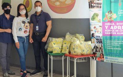 SAV y Fundación Seguros Venezuela donaron alimento a infantes del CECCA