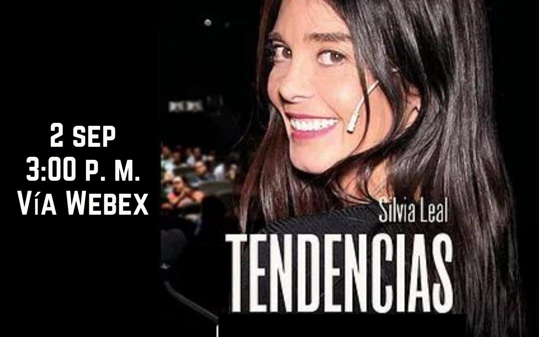 Encuentro virtual con las Tendencias de Silvia Leal a beneficio de la SAV