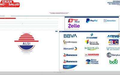 Alianza con ALSI Foundation para la recaudación de fondos a través de Donorbox