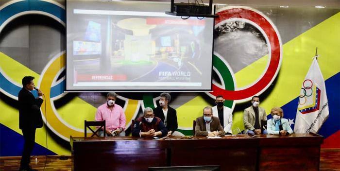 SAV presente en inauguración del Museo del Futbol Venezolano